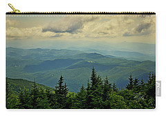 Carry-all Pouch featuring the photograph View From Mount Mitchell by Meta Gatschenberger