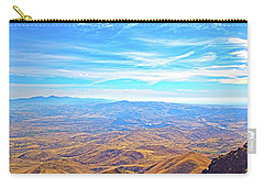 Carry-all Pouch featuring the photograph View From Squaw Butte, Id by Dart and Suze Humeston