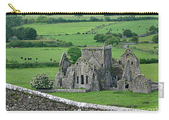Carry-all Pouch featuring the photograph View From The Rock by PJ Boylan