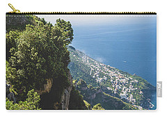 View Of Amalfi Italy From Path Of The Gods Carry-all Pouch