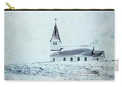 Vik I Myrdal Church In Snow Carry-all Pouch