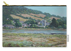 Village Of Axmouth On The River Axe Carry-all Pouch