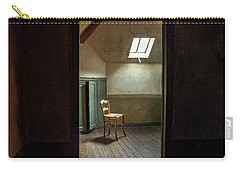 Carry-all Pouch featuring the photograph Vincent Van Gogh's Room by Craig J Satterlee