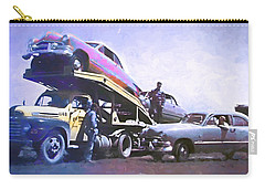 Vintage Ford Car Carrier Carry-all Pouch