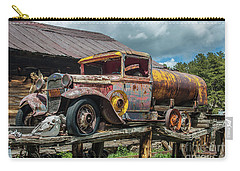 Vintage Ford Tanker Carry-all Pouch