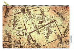 Vintage New York Post Carry-all Pouch