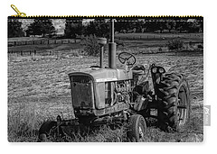 Vintage Tractor In Honeyville Bw Carry-all Pouch
