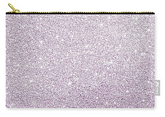 Carry-all Pouch featuring the photograph Violet Glitter by Top Wallpapers