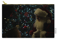 Visit With Santa Carry-all Pouch