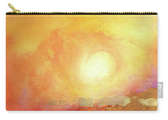 Carry-all Pouch featuring the painting Vortex Of Light by Valerie Anne Kelly