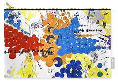 Carry-all Pouch featuring the painting Vulnerability  by Rene Capone