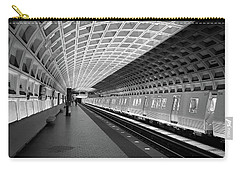Waiting At Pentagon City Station Carry-all Pouch