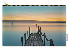 Carry-all Pouch featuring the photograph Walk Off by Bruno Rosa