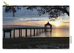 Walking Bridge To The Gazebo Carry-all Pouch