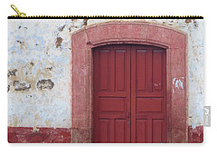 Carry-all Pouch featuring the photograph Walking By In Patzcuaro by Rosanne Licciardi