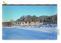 Walled Garden In The Snow Carry-all Pouch