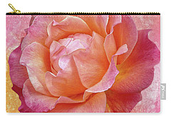 Warm And Crunchy Rose Carry-all Pouch