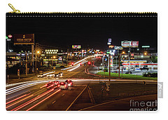 Washington Road At Night - Augusta Ga Carry-all Pouch