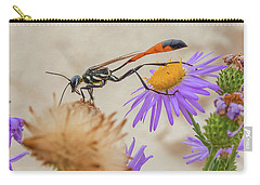Wasp At White Sands Carry-all Pouch