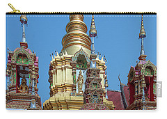 Wat Ban Kong Phra That Chedi Brahma And Buddha Images Dthlu0501 Carry-all Pouch