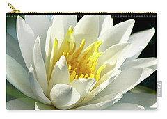 Carry-all Pouch featuring the photograph Water Lily by Christina Rollo