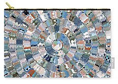 Water Mosaic Carry-all Pouch