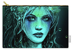 Water Queen Carry-all Pouch