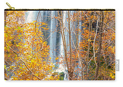 Carry-all Pouch featuring the photograph Waterfall Backdrop by Russell Pugh