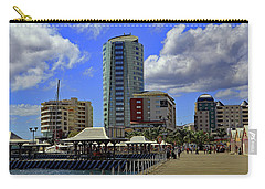 Carry-all Pouch featuring the photograph Waterfront by Tony Murtagh