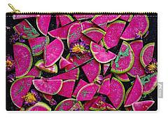 Watermelon Radish Edges Carry-all Pouch