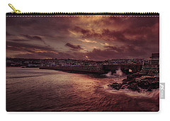 Wave At The Pier Carry-all Pouch