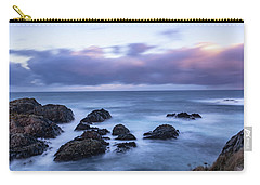 Waves At The Shore In Vesteralen Recreation Area Carry-all Pouch