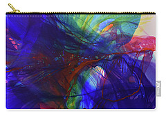 Carry-all Pouch featuring the painting Way Of Escape by Kate Word