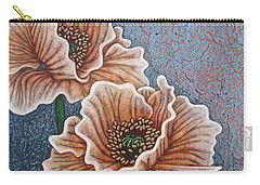 Carry-all Pouch featuring the painting Weathered Splendor by Amy E Fraser