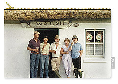 Carry-all Pouch featuring the photograph Well Worth The Drive Accros Lough Mask  by Val Byrne
