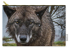Wet Wolf Carry-all Pouch
