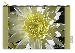 White Flowers W1 Carry-all Pouch