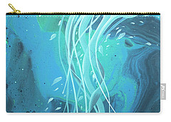 White Jellyfish Carry-all Pouch