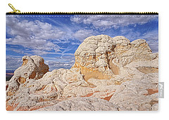 Carry-all Pouch featuring the photograph White Pocket Scenic by Theo O'Connor