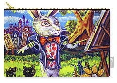 White Rabbit Alice In Wonderland Carry-all Pouch