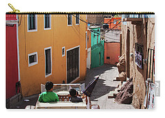 Carry-all Pouch featuring the photograph Who Said Mexicans Were Poor by Tatiana Travelways