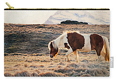 Wild Icelandic Horse Carry-all Pouch