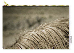 Wild Mustangs Of New Mexico 13  Carry-all Pouch