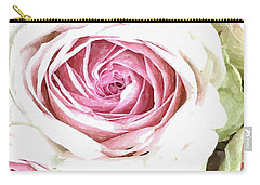 Wild Pink Roses Carry-all Pouch