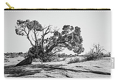 Carry-all Pouch featuring the photograph Will To Survive by Andy Crawford