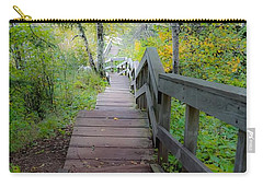 Winding Stairs In Autumn Carry-all Pouch