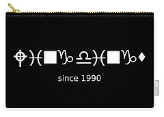 Wingdings Since 1990 - White Carry-all Pouch