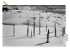 Winter At Quake Lake Carry-all Pouch