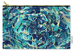 Winter Floral Carry-all Pouch