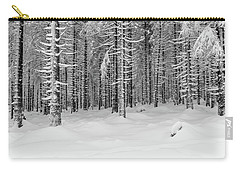 winter forest, Harz Carry-all Pouch